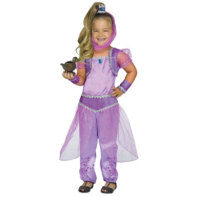 Toddler Purple Glimmer Genie Shimmer Costume  sc 1 st  Costume Kingdom : child genie costume - Germanpascual.Com