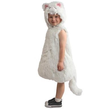 Toddler Snowball Kitty Halloween Costume  sc 1 st  Costume Kingdom & Baby Kitten Cat Costumes u2013 Toddler Snowball Kitty Halloween Costume