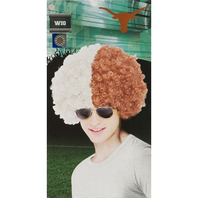 University of Texas Austin Wig Halloween Accessory