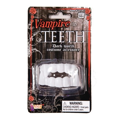 Vampire Teeth Halloween Fangs