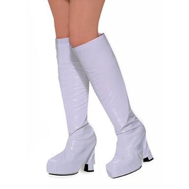 92fcd006e86 White Go Go Boot Tops - Womens Halloween Costumes