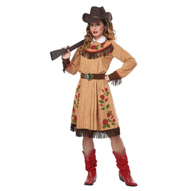 Womens Annie Oakley Cowgirl Halloween Costume  sc 1 st  Costume Kingdom : cow girl halloween costumes  - Germanpascual.Com