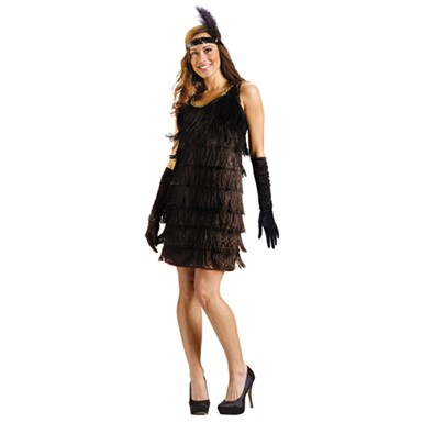 womens city flapper sexy twenties halloween costume