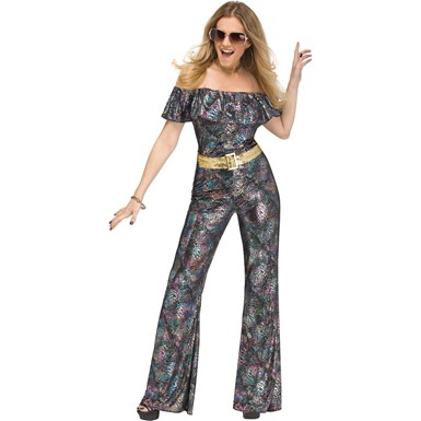 Womens Disco Queen 70s Halloween Costume