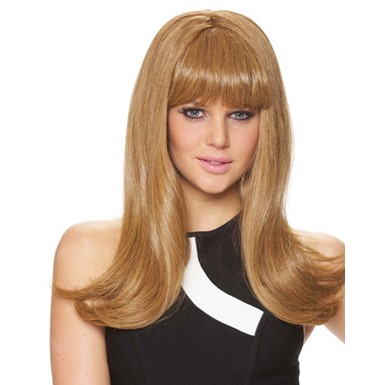 Womens Honey Blonde Mod 60's Adult Womens Costume Wig