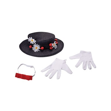 Womens Mary Poppins Costume Accessory Kit