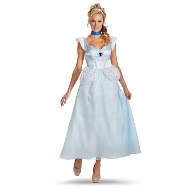 Womens Plus Size Cinderella Deluxe Costume