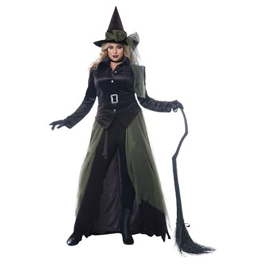 Womens Plus Size Gothic Witch Halloween Costume  sc 1 st  Costume Kingdom & Adult Witch Costumes | Womens Witch u0026 Wizard Costumes | Costume Kingdom