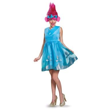 Womens Trolls Princess Poppy Costume with Wig  sc 1 st  Costume Kingdom & Womens Trolls Princess Poppy Costume with Wig u2013 Trolls Costumes